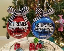 retirement ornament etsy