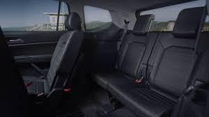 volkswagen atlas interior seating volkswagen atlas interior rear seats youtube