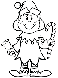 printable elf coloring pages elf printable coloring pages vector of a cartoon elf running with