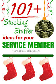 101 stocking stuffers ideas for your service member stocking