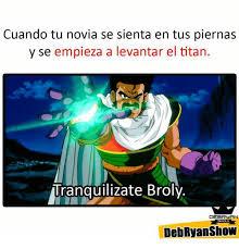 Broly Meme - 25 best memes about broli broli memes