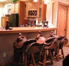 swivel saddle log bar stools lodge western contemp t m