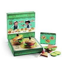 jeux de cuisine de sandwich jeu de création de sandwichs emile et olive djeco king jouet