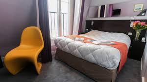 chambre lit jumeaux room eco le vintage gare du nord