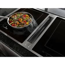 induction cuisine jid4436es 36 induction downdraft cooktop