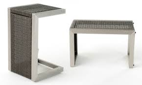 C Shaped End Table Northcutt C Shaped Accent Table Groupon Goods
