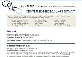 resume templates for medical assistants medical resume objective resume badak