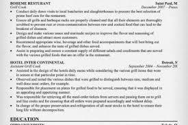 line cook resume objective waitress combination resume sample