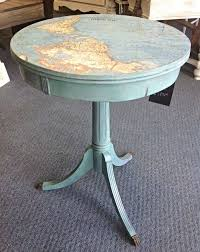 Chalk Paint Side Table Painting A Table A Shab Chic Farmhouse Table With Diy Chalk Paint