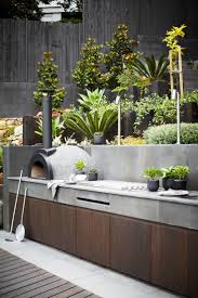 Outdoor Kitchen Against House 25 Best Outdoor Grill Area Ideas On Pinterest Grill Area