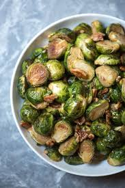 maple pecan roasted brussels sprouts valerie s kitchen