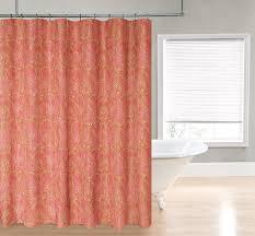 High End Fabric Shower Curtains Unique Mirror On The Wall Pale Pink Fabric Shower Curtain Mirror