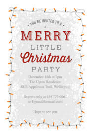 christmas brunch invitations a merry party free printable christmas invitation