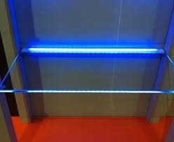 display case led lighting systems led glass edge lighting fixture plastic wessel led
