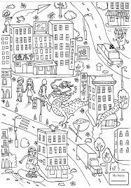 arts culture big ben houses parliament coloring pages