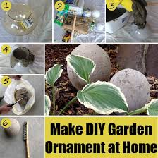make garden ornament at home diy home things