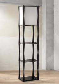 Standing Lamp With Shelves by Floor Lamps With Tray Table Lamps Plus