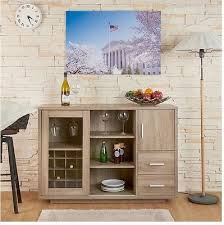 Bar Hutch Cabinet Buffet Sideboard Cabinet Dining Room China Storage Hutch Kitchen