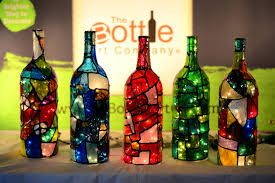 wine bottle halloween kitchen remarkable diy candy corn spray painted bottles smart
