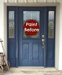Painting Exterior Doors Ideas Painting Front Doors On Lovely Furniture Home Design Ideas D64
