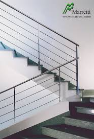 Stainless Steel Banisters Interior Staircase Banisters In Stainless Steel By Marretti Made