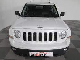 white jeep patriot back used jeep patriot 2 4 limited a t for sale