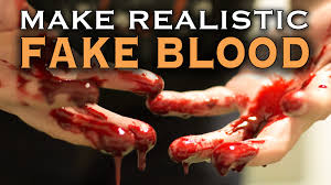 Fake Blood Halloween Costume Realistic Fake Blood 60 Seconds