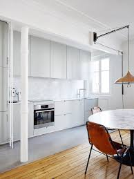 septembre adds a variety of floor finishes to renovated parisian