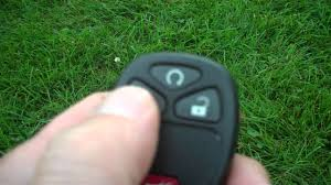 how to use the remote start on a 2009 chevrolet hhr youtube