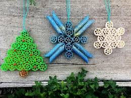 how to make pasta ornaments thriftyfun