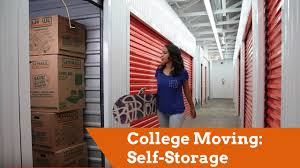 House Storage by College Moving Self Storage For Students Youtube