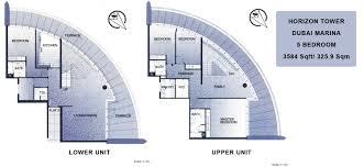 delightful duplex floor plans 5 horizon tower 4bed duplex jpg
