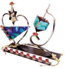 gary rosenthal menorah renowned judaica artist turns mitzvot into works of ledger