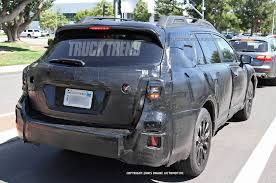 subaru outback custom caught 2015 subaru outback truck trend