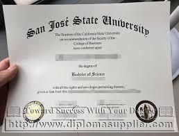 san jose state university diploma sjsu degree buy fake sjsu