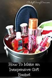 affordable gift baskets how to make great inexpensive gift baskets lists for different