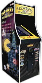 Galaga Arcade Cabinet Pacman Ms Pac Man And Galaga Coin Operated Video Arcade Machines