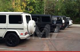 blac chyna jeep kris jenner mercedes g wagon another cars log s