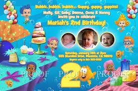 guppies birthday party guppies birthday party invitations