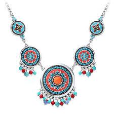 choker necklace with beads images Shineland fashion hand made ethnic enamel choker necklace jpg