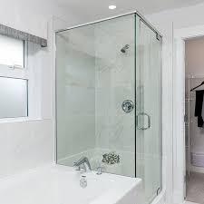 glass tub shower doors frameless frameless shower enclosures u2013 glass world u2013 bathtubs drop in