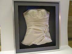 framed wedding dress great lakes wedding gown specialists complete gown care