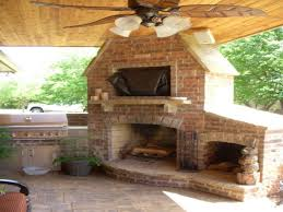 outdoor fireplace and grillnow thats an awesome corner interior