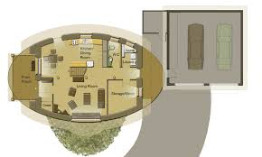 Earth Home Floor Plans Oval Straw Bale House Soma Earth