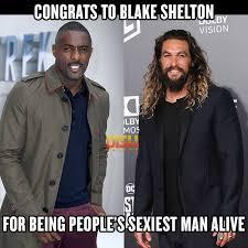 Blake Shelton Meme - dish nation it s official blake shelton is people s facebook