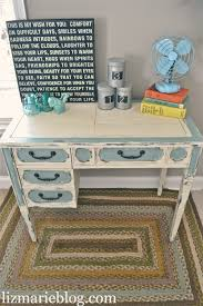 8 stylish and cool diy shabby chic desks shelterness