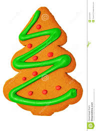 christmas tree gingerbread cookie stock images image 22224344