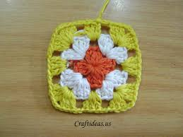 grany crochet colorful phone bag with granny squares craft ideas