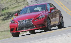 lexus is350 f sport in snow 2014 lexus is sedan first drive u2013 review u2013 car and driver