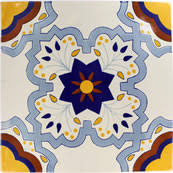 sevilla handcrafted ceramic floor tile collection